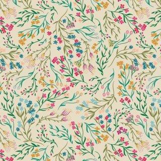 TFS-99108 Windswept Illuminated  -The Flower Society  在庫あり コットン100%