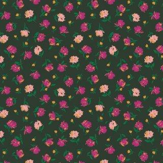 TFS-99115 Gentle Rosebuds Lunar  -The Flower Society  在庫あり コットン100%