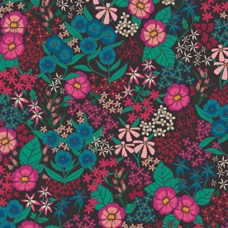 TFS-99100 Perennial Soiree  -The Flower Society 【カット販売】コットン100%