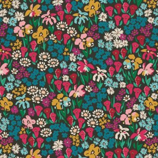 TFS-99102 Bloomkind Meadow  -The Flower Society 【カット販売】コットン100%
