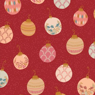 <img class='new_mark_img1' src='https://img.shop-pro.jp/img/new/icons3.gif' style='border:none;display:inline;margin:0px;padding:0px;width:auto;' />CMA-25122 Deck the Halls -Cozy & Magical コットン100%