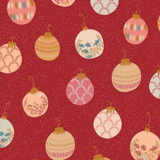 <img class='new_mark_img1' src='https://img.shop-pro.jp/img/new/icons3.gif' style='border:none;display:inline;margin:0px;padding:0px;width:auto;' />CMA-25122 Deck the Halls -Cozy & Magical 在庫あり コットン100%