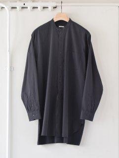 COMOLI(コモリ)バンドカラーシャツ 21ss
