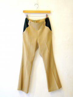 <img class='new_mark_img1' src='https://img.shop-pro.jp/img/new/icons6.gif' style='border:none;display:inline;margin:0px;padding:0px;width:auto;' />77circa / western color scheme twill pants 21SS