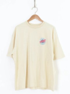 <img class='new_mark_img1' src='https://img.shop-pro.jp/img/new/icons6.gif' style='border:none;display:inline;margin:0px;padding:0px;width:auto;' />HOLIDAY / SUPER FINE T-SHIRT(CIRCLE LOGO) BEIGE 21ss