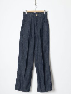 <img class='new_mark_img1' src='https://img.shop-pro.jp/img/new/icons6.gif' style='border:none;display:inline;margin:0px;padding:0px;width:auto;' />HOLIDAY / TUCK DENIM PANTS (DRAG)  21aw