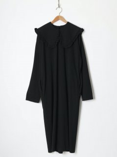 <img class='new_mark_img1' src='https://img.shop-pro.jp/img/new/icons6.gif' style='border:none;display:inline;margin:0px;padding:0px;width:auto;' />HOLIDAY / SUPER FINE DRY PURITAN COLLAR L/S DRESS BLACK 21aw