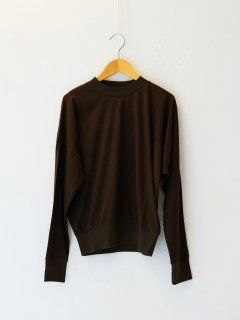 <img class='new_mark_img1' src='https://img.shop-pro.jp/img/new/icons6.gif' style='border:none;display:inline;margin:0px;padding:0px;width:auto;' />IIROT / Soft Cotton Asymmetry Tops (BROWN) 21FALL