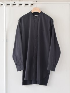 COMOLI(コモリ) / バンドカラーシャツ 21AW