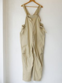 <img class='new_mark_img1' src='https://img.shop-pro.jp/img/new/icons6.gif' style='border:none;display:inline;margin:0px;padding:0px;width:auto;' />blurhmsROOTSTOCK 21AW Chino Salvage Overalls Light Beige