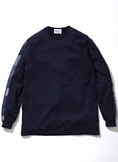 KUON (クオン) BORO Trimmed L/S T-shirt 21AW