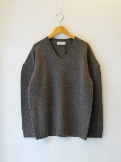 <img class='new_mark_img1' src='https://img.shop-pro.jp/img/new/icons6.gif' style='border:none;display:inline;margin:0px;padding:0px;width:auto;' />RIM.ARK / Power shoulder knit tops (L/BRN) 21AW