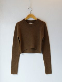<img class='new_mark_img1' src='https://img.shop-pro.jp/img/new/icons6.gif' style='border:none;display:inline;margin:0px;padding:0px;width:auto;' />determ; / CROPPED SWEATER 21AW