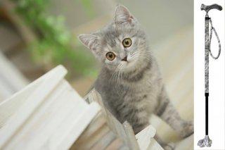 猫の手ステッキ【ツシマヤマネコ】