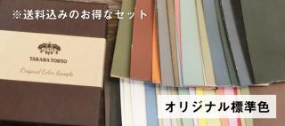 標準色 色見本セット 送料込(郵送)