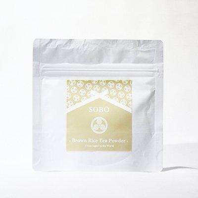 """蒼氓オリジナル<p></p>""""Brown Rice Tea Powder""""<p></p>玄米茶パウダー<p></p>"""