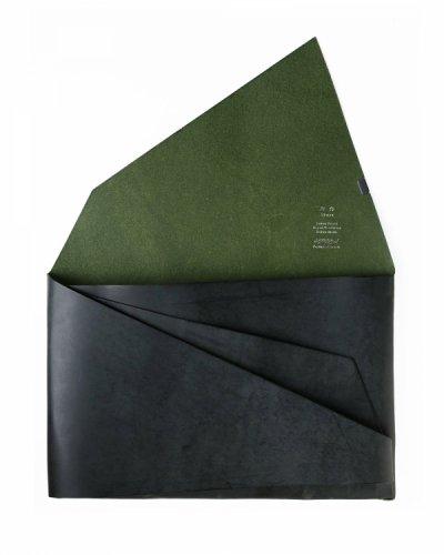 "<p>所作</p>""Clutch Bag"" Green"