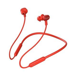 【処分特価・パッケージ破損】Macaw TX-80 スポーツタイプ Bluetoothヘッドセット レッド