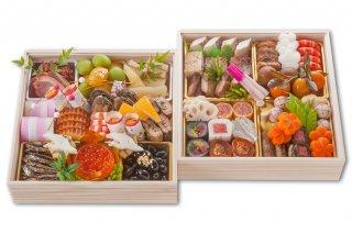 *ご予約受付中* 蔦茂のおせち料理  和 二段重|送料無料