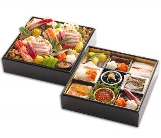 *ご予約受付中*  明治6年創業 日本料理ひら井 おせち料理   極 二段重 |送料無料