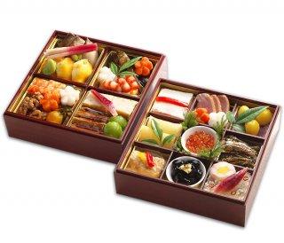*ご予約受付中*  明治6年創業 日本料理ひら井 おせち料理   特選 二段重 |送料無料