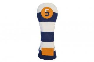 5番フェアウェーウッド用BW 帆布キャンバスシリーズ ボーダー