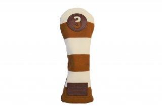 3番フェアウェーウッド用KB 帆布キャンバスシリーズ ボーダー