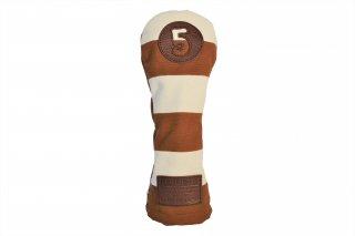 5番フェアウェーウッド用KB 帆布キャンバスシリーズ ボーダー