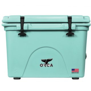 <img class='new_mark_img1' src='https://img.shop-pro.jp/img/new/icons50.gif' style='border:none;display:inline;margin:0px;padding:0px;width:auto;' />ORCA Coolers 58 Quart -Seafoam-