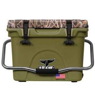 ORCA Coolers 20 Quart -MOSSY OAK BLADES Green-
