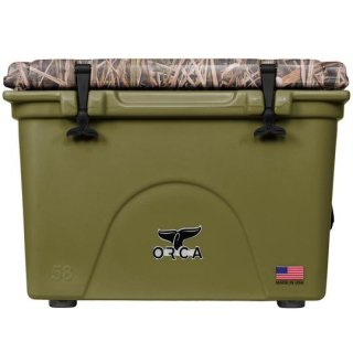 ORCA Coolers 58 Quart -MOSSY OAK BLADES Green-