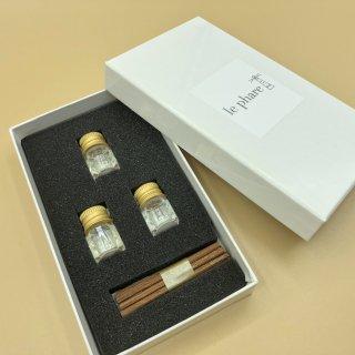 ルファル ミニ セット【ナチュラル】<br>le phare (MINI) set【NATURAL】<br>3種類の香りが入ったセットです<span> NATURAL</span>