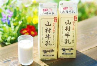 ☆セットでお得☆ 山村牛乳 1L パック(成分無調整)