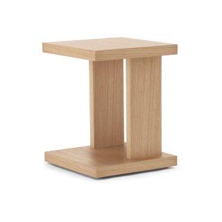SLED スクエアサイドテーブル -ナチュラル