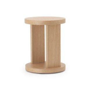 SLED ラウンドサイドテーブル -ナチュラル