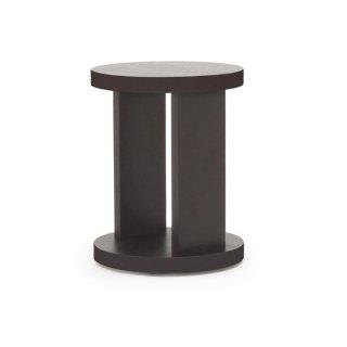 SLED ラウンドサイドテーブル -ブラウン
