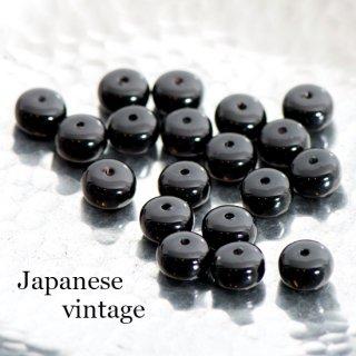 ジャパンヴィンテージビーズ 6個  プスペーサー 日本製 フラットビーズ