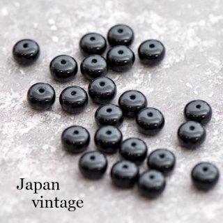 ジャパンヴィンテージビーズ 10個  スペーサー 日本製 フラットビーズ スペーサー