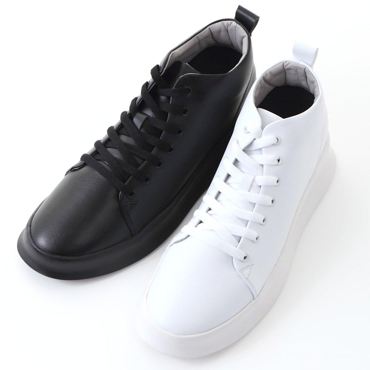 シークレットスニーカー 8cmアップ メンズ スニーカー シークレットシューズ 8cm背が高くなる靴 23.5cm〜 kk2-080-g