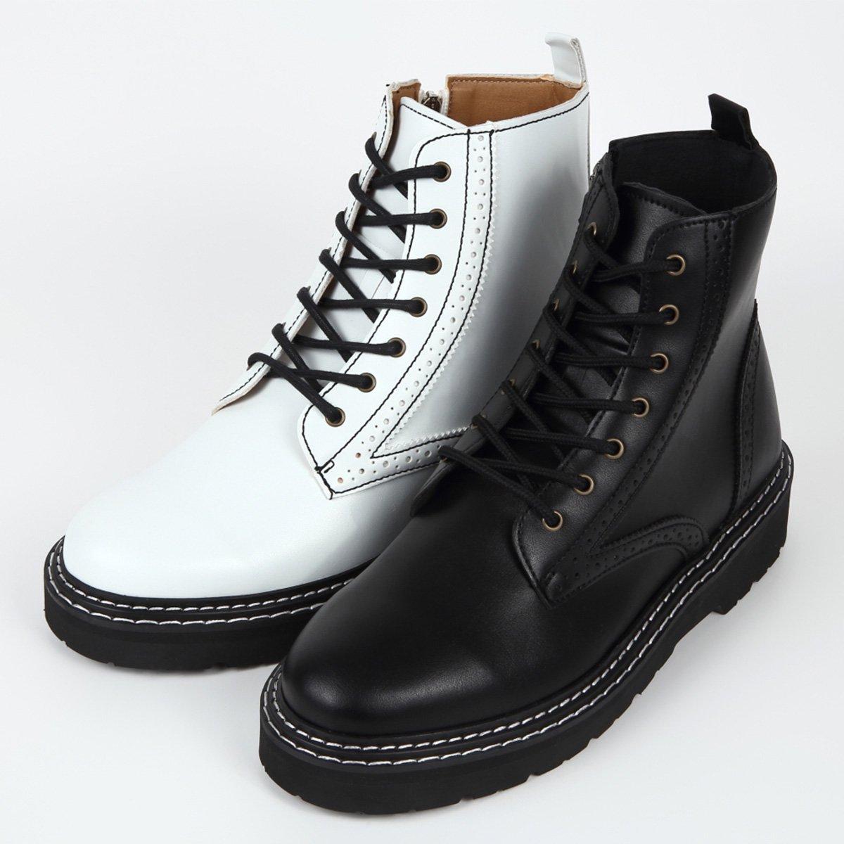 シークレットブーツ 8cmアップ メンズブーツ 厚底ブーツ kk3-600-g 10cmアップまで可