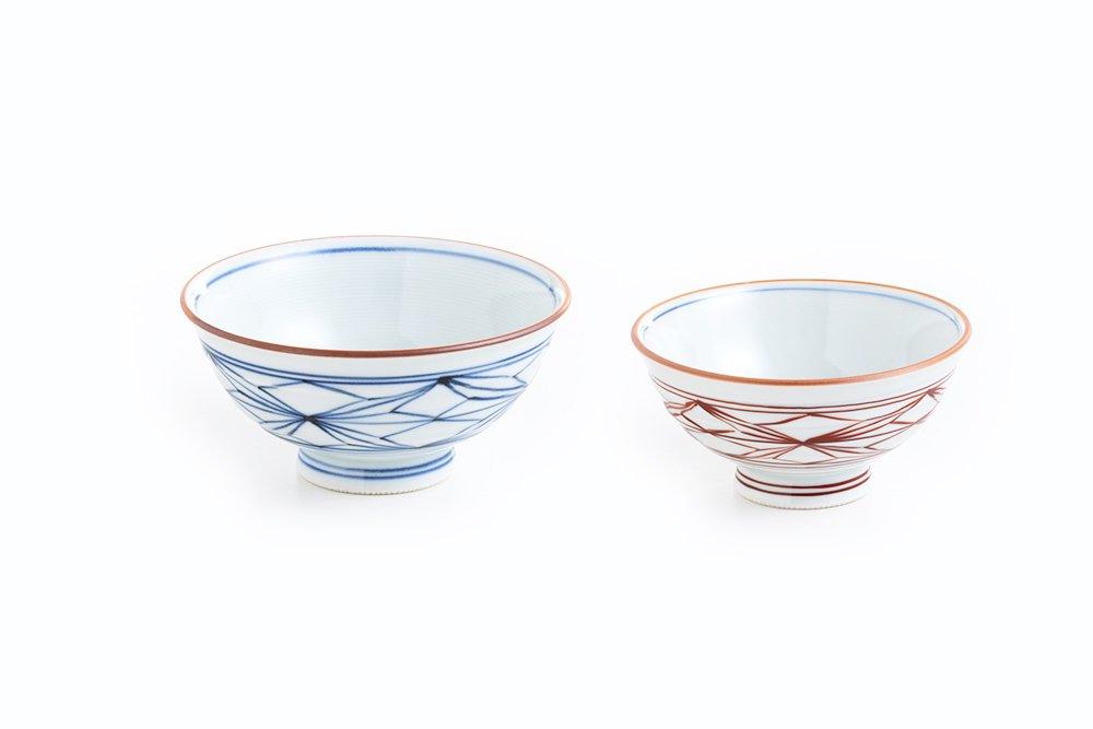 帯麻紋 茶椀