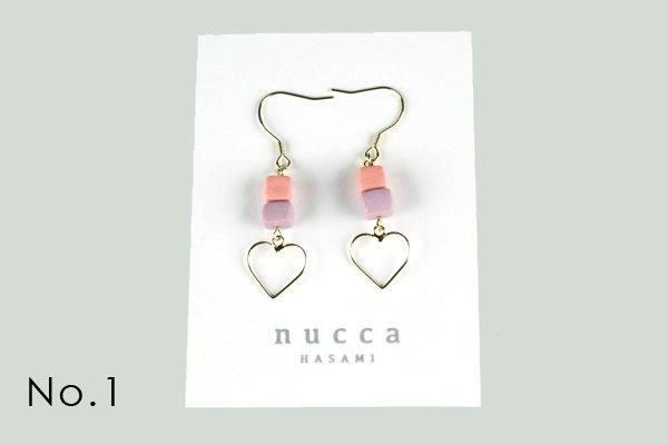 nucca JIYUシリーズ ピアス/ゴールド