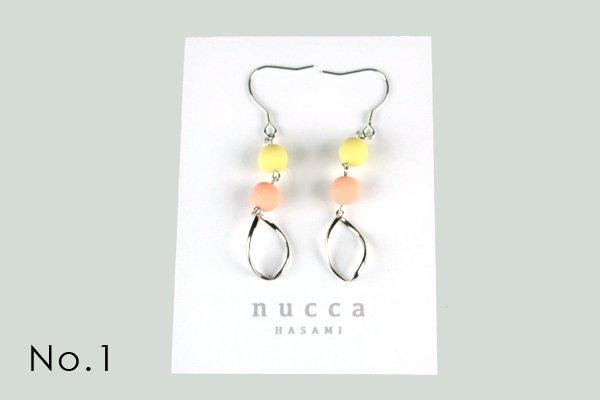 nucca JIYUシリーズ ピアス/シルバー