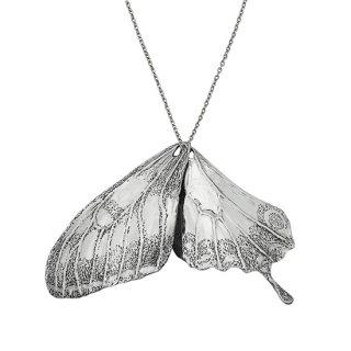 アゲハチョウ 羽ネックレス