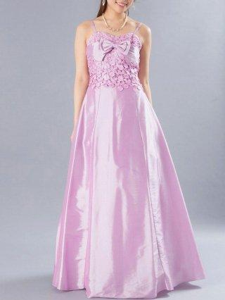 ワルツ ピンク  ロングドレス 9376/ 演奏会 ラミューズドレス通販