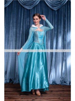 アナと雪の女王 エルサ ドレス 衣装 コスプレ