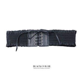ドレス用編上げゴムベルト*ブラック/ 演奏会ラミューズドレス通販