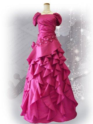 【わけあり】アスターピンク・プリンセスドレス 9970CHERY 演奏会ステージドレス