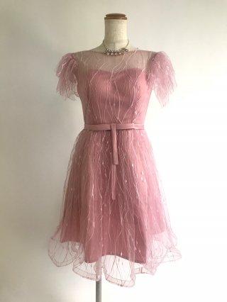 ●プリンセスミニドレス ピンク0006/演奏会 ラミューズドレス通販