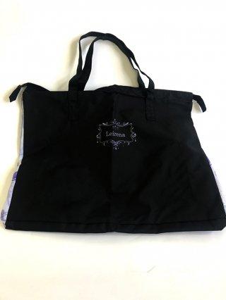 ドレス用鞄大・バッグ・黒パーティー結婚式1346/ステージ衣装